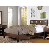 Riva Queen-size Platform Bed in Chocolate Brown - Modus RV26F5