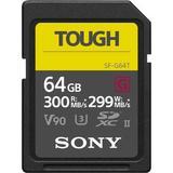 Sony 64GB SF-G Tough Series UHS-II SDXC Memory Card SF-G64T/T1