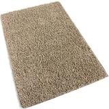"""6'x9' Beach Path Beige Frieze Shag Indoor Area Rug Carpet. Soft and Plush 32 oz 3/4"""" Thick Frieze Indoor Area Rug"""