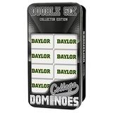 MasterPieces NCAA Baylor Bears Collector Edition Double Six Dominoes