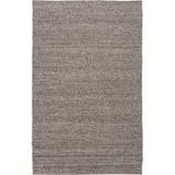 Beachcrest Home™ Othello Handmade Flatweave Wool Charcoal/Camel/Cream Area RugWool in Brown/Gray/White, Size 96.0 H x 60.0 W x 0.98 D in   Wayfair
