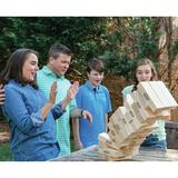 Bolaball 54 Piece Tumbling Tower Giant Board Game SetSolid Wood in Brown, Size 16.0 H x 16.0 W x 10.0 D in   Wayfair 317578