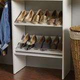 """ClosetMaid SuiteSymphony 23.7"""" W Shelving Manufactured Wood in White, Size 2.4 H x 23.7 W x 13.75 D in 