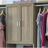 """ClosetMaid SuiteSymphony 24.92"""" W Door Manufactured Wood in Gray, Size 30.12 H x 24.92 W x 0.63 D in 