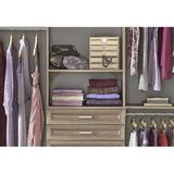 """ClosetMaid SuiteSymphony 24.8"""" Drawer Manufactured Wood in Gray, Size 5.0 H x 24.8 W x 13.54 D in 