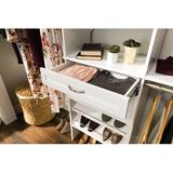 """ClosetMaid SuiteSymphony 24.8"""" Drawer Manufactured Wood in White, Size 5.0 H x 24.8 W x 13.62 D in 