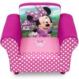 Delta Children Disney' Minnie Mouse Chair Upholstered in Brown, Size 17.25 H x 22.5 W x 16.0 D in | Wayfair UP83517MN_1063