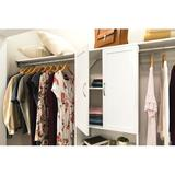 """ClosetMaid SuiteSymphony 24.92"""" W Door Manufactured Wood in White, Size 30.12 H x 24.92 W x 0.71 D in 