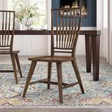 Hooker Furniture Roslyn County Solid Wood Dining Chair in Medium PecanWood in Brown, Size 41.0 H x 21.0 W x 23.0 D in | Wayfair 1618-75310-DKW