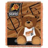 Northwest Co. NBA Suns Half Court Baby Throw in Yellow, Size 46.0 H x 36.0 W in   Wayfair 1NBA044010021RET