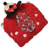 Pillow Pets Sleeptime Lite Disney Rockin The Dots Minnie Mouse Plush Night Light Fabric in Red, Size 3.0 H x 9.5 W x 12.0 D in   Wayfair 025014032