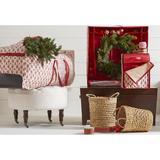 Jokari Holiday Wreath Storage Box, Size 31.5 H x 31.5 W x 7.0 D in   Wayfair 20001