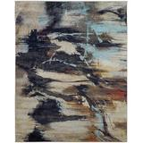 Williston Forge Stehouse Earth/Sky Area Rug Polypropylene in White, Size 36.0 H x 24.0 W x 0.4 D in   Wayfair A256B674074C4AF1BD1E6AD2AFD16B21