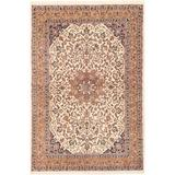 """Isabelline One-of-a-Kind Kameron Hand-Knotted 2010s Kashan Cream/6' x 8'7"""" Wool Area RugWool in Brown, Size 103.0 H x 72.0 W in 