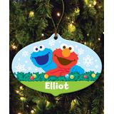 TV's Toy Box Ornaments Multi - Sesame Street Green BFF Ornament