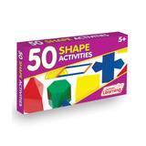 Junior Learning Math Education Toys - 50 Shape Activity Set