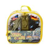 Hayes Specialties Backpacks - Army Corps Action Team Backpack Toy Set