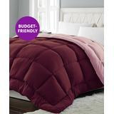 Blue Ridge Home Fashions Comforters Burgundy/Mavue - Burgundy & Mauve Lightweight Down-Alternative Comforter