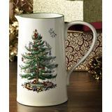 Spode Pitchers GREEN - Christmas Tree Jug