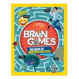 National Geographic Art Activity Books - Brain Games: Big Book of Boredom Busters Activity Paperback