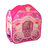 Amazing Tech Depot Indoor Forts & Tents - Princess Carriage Wagon Pop-up Play Tent