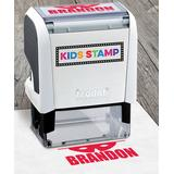 Hampton Technologies Stamps White - Red Ink Mask Personalized Stamp