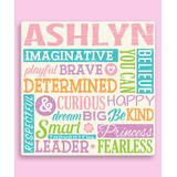 Personalized Planet Canvases - All About Her Personalized Wrapped Canvas