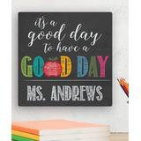 Personalized Planet Canvases - 'It's A Good Day To Have A Good Day' Personalized Wrapped Canvas
