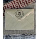 Stamp Out Online Stamps - Palm Tree Personalized Return Address Stamp