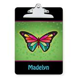 Personalized Planet Clipboards - Pretty Butterfly Personalized Clipboard