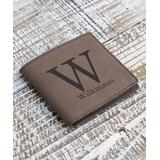 Stamp Out Online Wallets - Dark Brown Large Initial Wallet