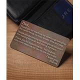 Personalized Planet Card Holders - 'Thank You' Personalized Wallet Card