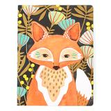 Studio Oh! Journals and Planners - Woodland Fox Medium Coptic-Bound Journal