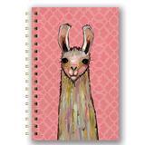 Studio Oh! Notepads and Notebooks - La-La-La Llama Medium Spiral Notebook