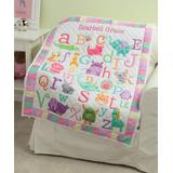 Personalized Planet Quilts - Personalized Girl's ABC Quilt