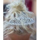 Trish Scully Child Girls' Crowns and Tiaras WHITE - White Rhinestone Tiara
