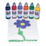 S&S Worldwide Art Paint - Color Splash! Puffy Paint - Set of Six