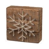 Primitives by Kathy Block Signs - Snowflake String Art Wall Decor