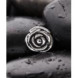 Kanishka Women's Pendants Sterling - Sterling Silver Oxidized Rose Pendant