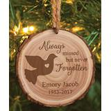 Personalized Planet Ornaments - 'Always Missed' Memorial Personalized Ornament