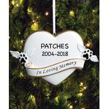 Personalized Planet Ornaments - 'In Loving Memory' Dog Personalized Ornament
