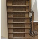 Tucker Murphy Pet™ Beahm Contemporary Solid Design Stair Tread Synthetic Fiber in Brown, Size 0.2 H x 26.0 W x 9.0 D in | Wayfair
