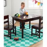 KidKraft Indoor Table Chair Sets - Espresso Three-Piece Kids' Table & Chair Set