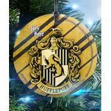 Trend Setters Ltd Ornaments - Harry Potter Hufflepuff StarFire DecorationsTM Glass Hanging Decoration