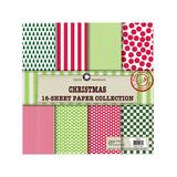 Canvas Corp Art Paper - Christmas 16-Sheet Paper Collection