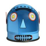 Aeromax Masks and Headgear - Blue Robot Helmet