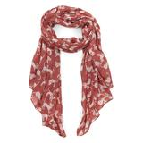East Cloud Women's Accent Scarves Red - Red Cat Scarf