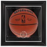 """Boston Celtics Black Framed Wall-Mounted Team Logo Basketball Display Case"""