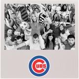 """Chicago Cubs 4"""" x 6"""" Aluminum Picture Frame"""