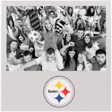 """""""Pittsburgh Steelers 4"""""""" x 6"""""""" Aluminum Picture Frame"""""""